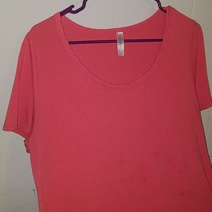 Lularoe Perfect tee- coral